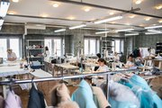 Продаётся швейный цех по пошиву парок с мехом